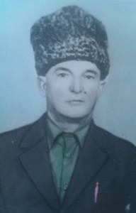 0035 Алиев .Г. участник ВОВ.лейтенант.командир штаф .бата. Награжден Орденом Славы Третьей степени.