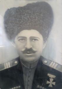 0041 Гаджиев М участник I мировой войны, награжден железным крестом За храбрость