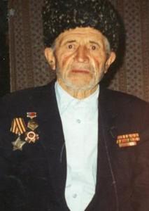 0055 Тагиров Тагир Латипович Кавалер ордена Славы, награжден медалями За победу над Германией и 20 лет победы в ВОВ 1941-1945